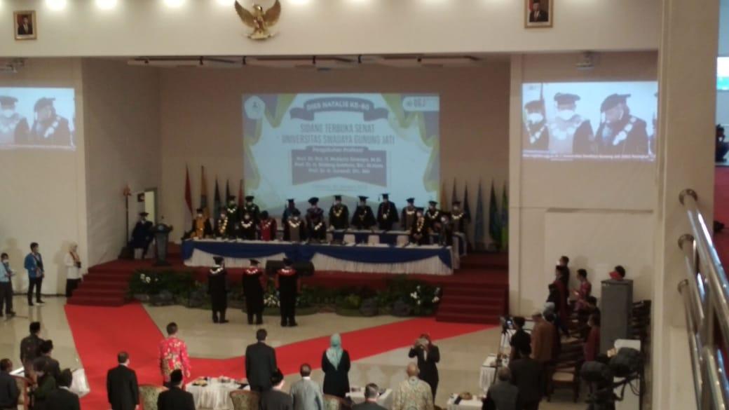 Pengukuhan Profesor UGJ Cirebon